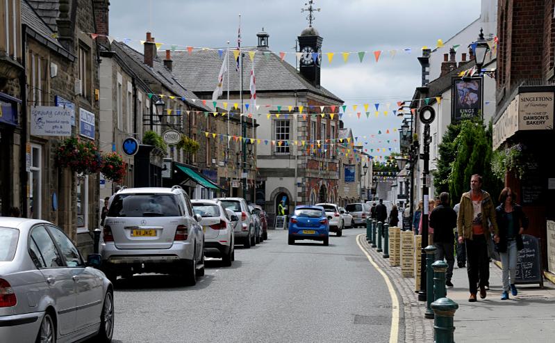 Garstang High Street, Lancashire