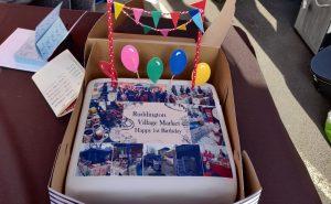 Ruddington Market Birthday cake